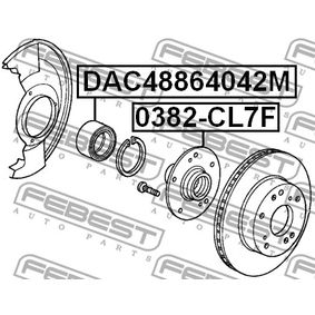 Wheel bearing kit DAC48864042M FEBEST