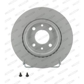 Bremsscheibe FERODO Art.No - DDF1096C OEM: 8200171765 für RENAULT, DACIA, RENAULT TRUCKS kaufen