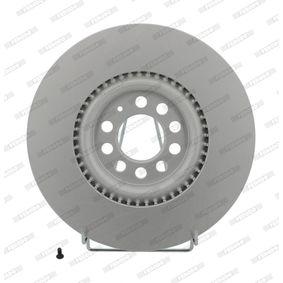 Bremsscheibe FERODO Art.No - DDF1118C OEM: 6R0615301B für VW, AUDI, SKODA, SEAT, ALFA ROMEO kaufen