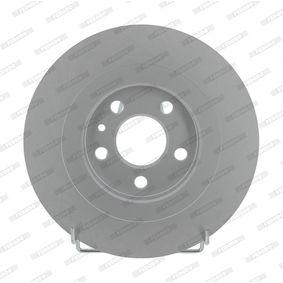 Bremsscheibe FERODO Art.No - DDF1181C OEM: 4246P4 für FIAT, PEUGEOT, CITROЁN, LANCIA kaufen