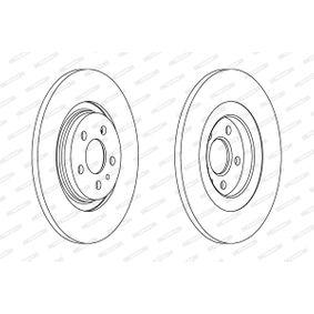 FERODO Bremsscheibe 4246P4 für FIAT, PEUGEOT, CITROЁN, LANCIA bestellen