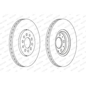 FERODO Bremsscheibe 6R0615301D für VW, AUDI, SKODA, SEAT bestellen