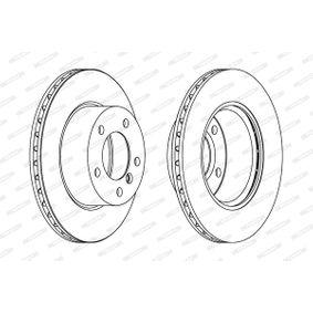 FERODO Bremsscheibe 34116792215 für BMW bestellen