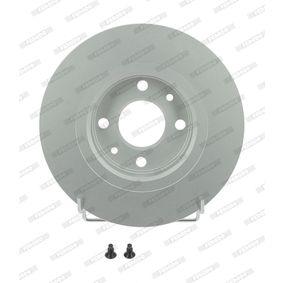 Bremsscheibe FERODO Art.No - DDF1502C OEM: 8200123117 für RENAULT, DACIA, RENAULT TRUCKS kaufen