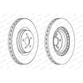 FERODO Bremsscheibe 26300FE000 für SUBARU, BEDFORD bestellen