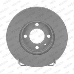 Bremsscheibe FERODO Art.No - DDF207C OEM: 357615301D für VW, AUDI, SKODA, SEAT kaufen