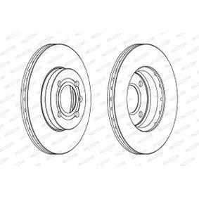 FERODO Bremsscheibe 357615301D für VW, AUDI, SKODA, SEAT bestellen