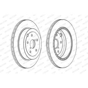 FERODO Bremsscheibe 26700FG010 für SUBARU, BEDFORD bestellen