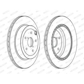 26700FG010 für SUBARU, BEDFORD, Bremsscheibe FERODO (DDF2140C) Online-Shop