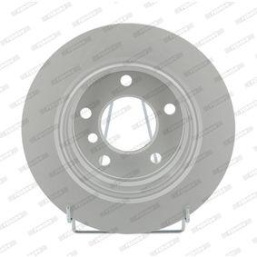 Bremsscheibe FERODO Art.No - DDF831C OEM: 34211165211 für BMW, MINI kaufen