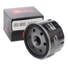 TWINGO II (CN0_) CLEAN FILTER Motorölfilter DO1800