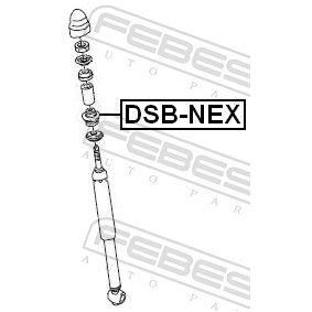 Буфери за амортисьори DSB-NEX FEBEST