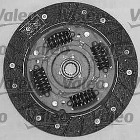 Clutch kit (821458) producer VALEO for FIAT PUNTO (188) year of manufacture 09/1999, 80 HP Online Shop