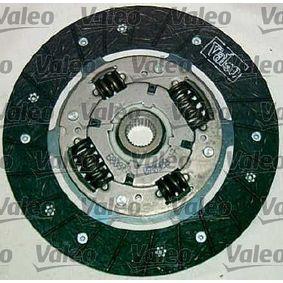 VALEO 821799 Kupplungssatz OEM - 02A141165M AUDI, SEAT, SKODA, VW, VAG, FIAT / LANCIA, VW (FAW), VW (SVW), STARK günstig