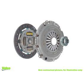 Kupplungssatz VALEO Art.No - 826631 OEM: 96181199 für OPEL, CHEVROLET, DAEWOO, GMC, PLYMOUTH kaufen