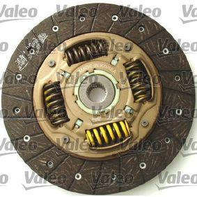 VALEO 826631 Kupplungssatz OEM - 96181199 GMC, OPEL, CHEVROLET, DAEWOO, GENERAL MOTORS, PLYMOUTH günstig