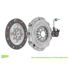 VALEO Kit d'embrayage JJD,JJF,JJG,JJH,JJL boîte de vitesses manuelle avec élément hydraulique CP 834006 originales de qualité