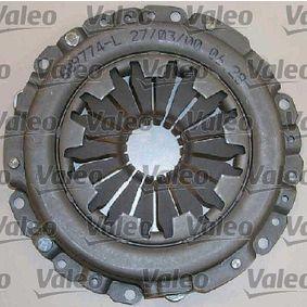 VALEO Kit d'embrayage JJD,JJF,JJG,JJH,JJL boîte de vitesses manuelle avec élément hydraulique CP 3276428340067 évaluation