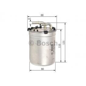 Filtro de combustible BOSCH F 026 402 835 populares para SEAT IBIZA 1.4 TDI 90 CV