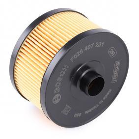 BOSCH F 026 407 231 Ölfilter OEM - 152082327R RENAULT günstig