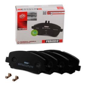 FERODO 25564 Bremsbelagsatz, Scheibenbremse (FDB4357) Online-Shop
