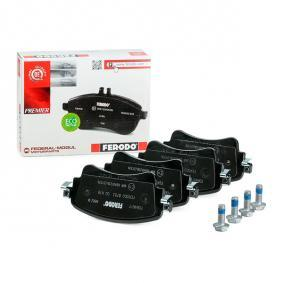 8W0698451N pour VOLKSWAGEN, AUDI, SEAT, SKODA, Kit de plaquettes de frein, frein à disque FERODO (FDB4617) Boutique en ligne