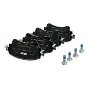 FERODO FDB4617 Kit de plaquettes de frein, frein à disque OEM - 8W0698451N AUDI, SEAT, SKODA, VW, VAG, AUDI (FAW) à bon prix