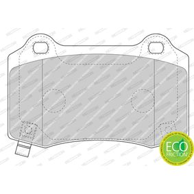 Bremsbelagsatz, Scheibenbremse FERODO Art.No - FDB4777 OEM: 68144223AA für JEEP, CHRYSLER kaufen