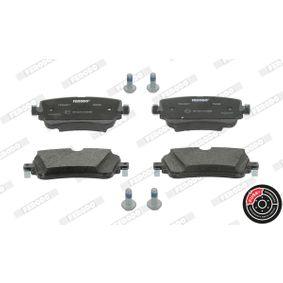 Kit de plaquettes de frein, frein à disque FERODO Art.No - FDB4807 OEM: 8W0698451N pour VOLKSWAGEN, AUDI, SEAT, SKODA récuperer