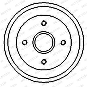 FERODO FDR329128 Bremstrommel OEM - 3055016151 AUDI, FORD, PORSCHE, SEAT, SKODA, VW, VAG, ATE, TEXTAR, KAWE, ROTINGER günstig