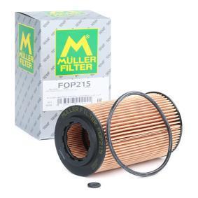 Astra G Berlina (T98) MULLER FILTER Filtro de aceite FOP215