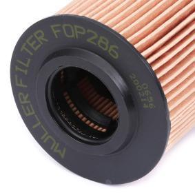 CRAFTER 30-50 Kasten (2E_) MULLER FILTER Motorölfilter FOP286