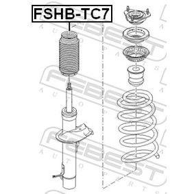 Almohadilla de tope suspensión & guardapolvos amortiguador FSHB-TC7 FEBEST