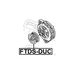 FEBEST Riemenscheibe, Generator 77364082 für FORD, FIAT, PEUGEOT, CITROЁN, ALFA ROMEO bestellen