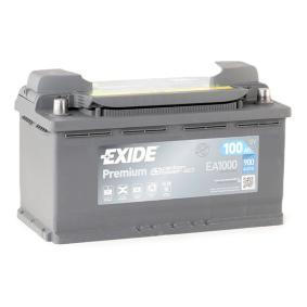 4E0915105 für VW, AUDI, SKODA, SEAT, HONDA, Starterbatterie EXIDE (EA1000) Online-Shop