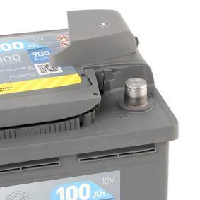 EXIDE Starterbatterie EA1000