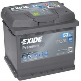 EXIDE Starterbatterie EA530