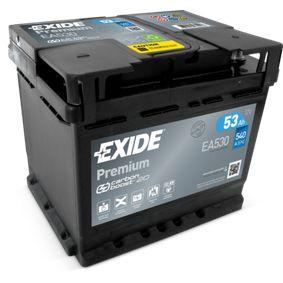 Batterie EXIDE (EA530) für VW TOURAN Preise