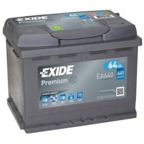 EXIDE EA640 Starterbatterie OEM - 4515410102 MERCEDES-BENZ, SKODA, VW, CHEVROLET, BENTLEY, SMART günstig