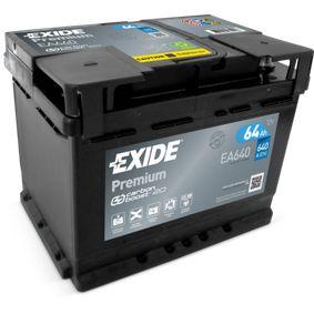 EXIDE Starterbatterie EA640