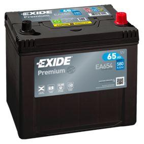 Akkumulator EA654 EXIDE