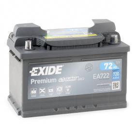 EXIDE Starterbatterie (EA722) niedriger Preis