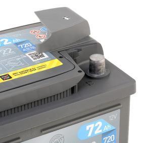 EXIDE RENAULT ESPACE Batterie (EA722)