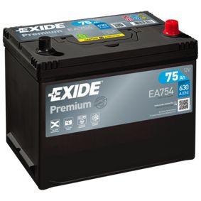 Akkumulator EA754 EXIDE