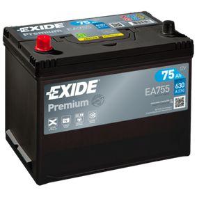 EXIDE Starterbatterie EC0730008 für VW, OPEL, SKODA, TOYOTA, NISSAN bestellen