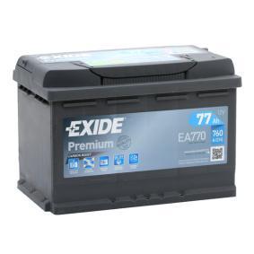 EXIDE Batterie (EA770)