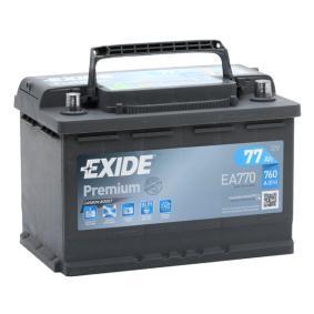 EXIDE VW TOURAN Batterie (EA770)