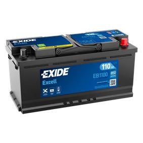 EXIDE Starterbatterie 61218376456 für BMW bestellen