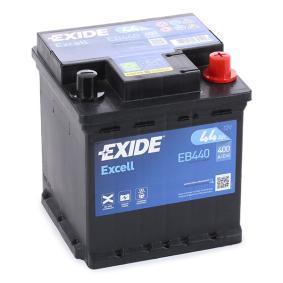 Starterbatterie EXIDE Art.No - EB440 OEM: 51778210 für FIAT, ALFA ROMEO, LANCIA, ABARTH, FSO kaufen