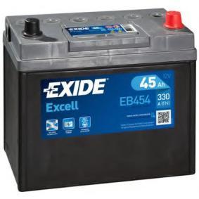 Starterbatterie EXIDE Art.No - EB454 OEM: 31500SCAE011M1 für HONDA kaufen